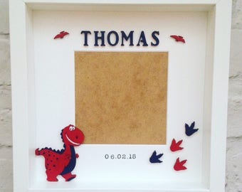 Personalised Dinosaur Picture photo Frame