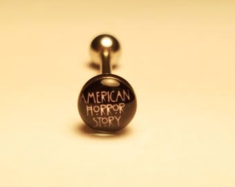American Horror Story Tongue Ring