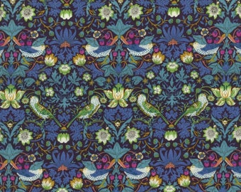 SALE - Liberty of London - Classic Tana Lawn Collection - Strawberry Thief (J)