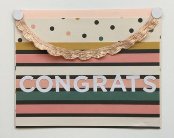 Handmade Congrats Card