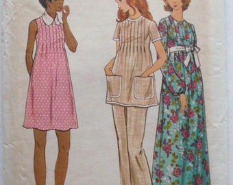 Butterick 6697 - Maternity Dress, Tunic and Pants Sewing Pattern - Size 10, Bust 32 1/2