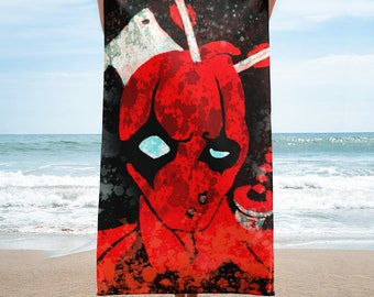 Deadpool Takes A Beating Towel