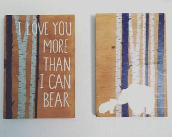 I love you more than i can bear