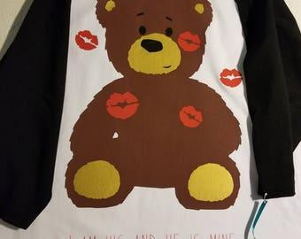 Kissed teddy bear t-shirt!