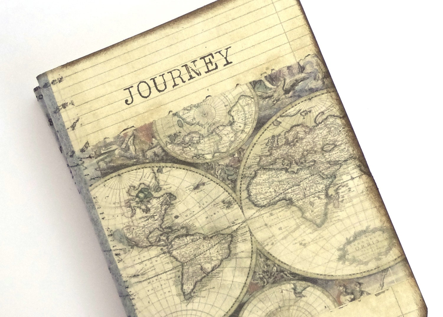 Pocket travel journal world map journal mini altered zoom gumiabroncs Image collections