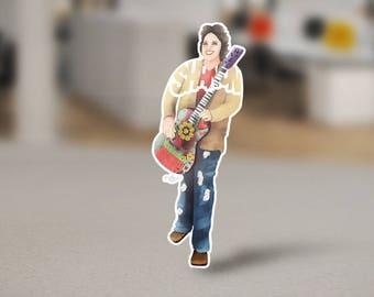 Shanon Person Custom Sticker Design