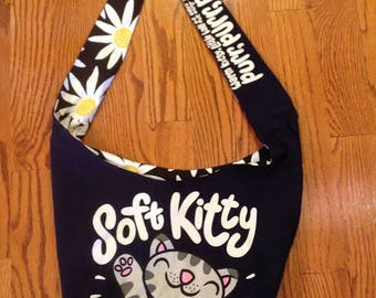 Soft Kitty Crossbody Bag