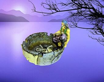 Caribbean Pirate souvenir ashtray