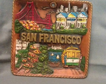 SNCO Imports San Francisco Plate Plaque