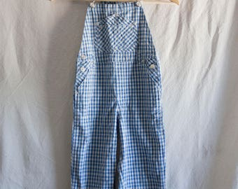 Little Boy Blue Soft Cotton Overalls - TOTTO KIDDO