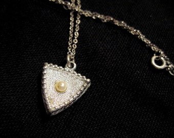 Silver Toned Necklace Sarah Coventry