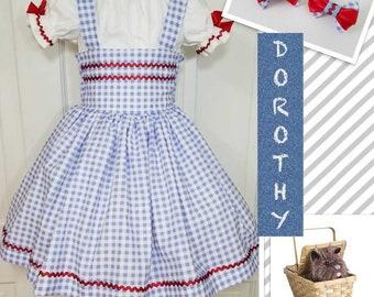 Dorothy, Dorothy Costume, Dorothy Dress, Wizard of Oz Dorothy, Character Birthday, Character Dress