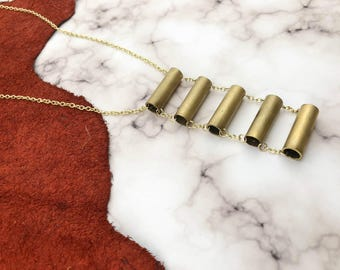 Bridge of Brass Necklace