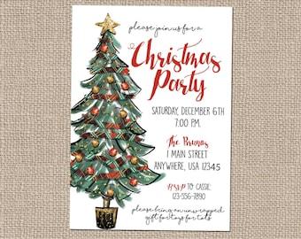 christmas invitation images