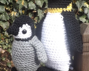 PENGUIN and BABY!