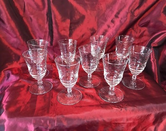 Rock Sharpe Arctic Rose Vintage juice glasses