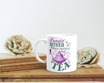 Jane Austen Mug, Literary Mug, Librarian Mug, Tea Mug, Literary Gift, Literary Quote Mug, Jane Austen Gift, Book Lover Christmas Gift