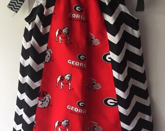 Georgia Bulldogs Baby/Toddler Dress, Georgia Dress