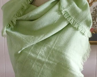 Vintage French Scarf/Wrap ... Free Shipping