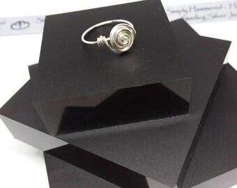 Twisted Swirl Ring
