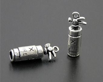 30pcs Antique Silver Fire Extinguisher Charms Pendant A2267