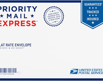 Express Mailing Option 1-2 business days