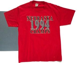 Vintage 1994 Nebraska Champs Tee