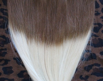"18"" ONE piece quad weft remy human hair extensions. 100g. Or Halo style-choose your from drop down menu."