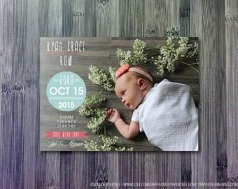 Circle Baby Announcement | BA17