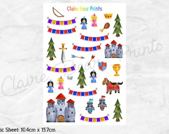 MEDIEVAL Planner Stickers (2 options)