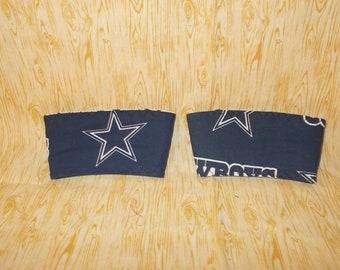 Dallas Cowboys Coffee Cup Cozy - Set of 2