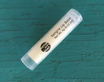 Organic Summertime Lip Balm // Summer Lip Care // Moisturizing // Natural Lip Care // Hostess Gift // Party Favors // Gift Ideas