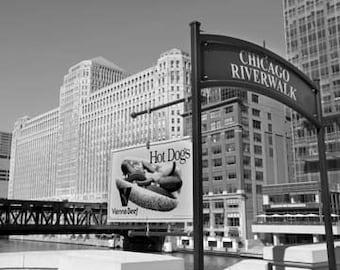 Hot Dog Chicago - Original Signed Fine Art Photograph