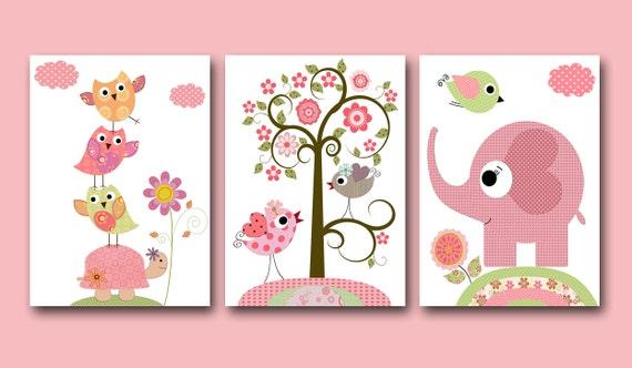 Baby Mädchen Kinderzimmer Druck Baby Art Kids Wand Kunst Baby