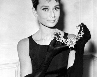 "Audrey Hepburn in Film ""Breakfast at Tiffany's"" - 5X7, 8X10 or 11X14 Publicity Photo (NN-232)"