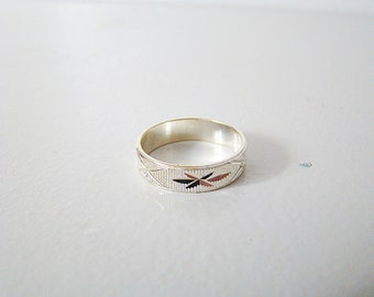 Vintage Sterling Silver Simple Band Ring, Size 8 Every day Jewelry  Braid ring, Braided ring, Friendship ring, Hallmarked