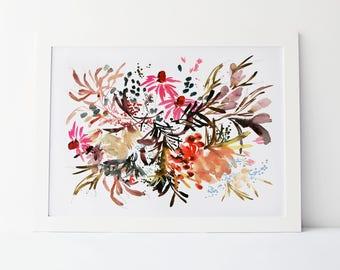 Coneflower Fields - Fine Art Print