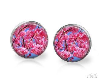 Earrings cherry blossoms 56