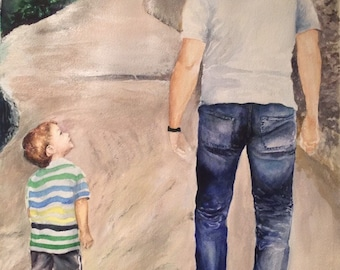 Special personal moments - from photo to art