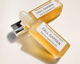 Fall Garden /Roll On Essential Oils, Roll On Perfume,Aromatherapy Roll On,Essential Oil Perfume,Natural Perfume,Pleiadians Handmade