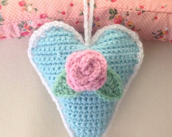 Rose Hanging Heart