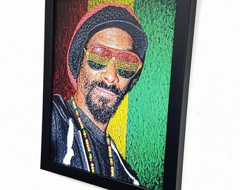 Snoop Dogg -:- Wall Art Giclee Canvas Paint,Painting, Poster,Print