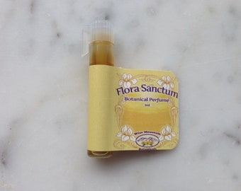 Flora Sanctum - Pure Botanical Perfume - 1 ml SAMPLE - Mimosa Jasmine Amber