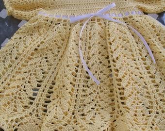 Crocheted Baby Dresses