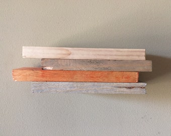 Small Rustic Wood Shelf