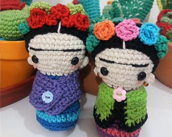 Frida Amigurumi Patron : La sirenita amigurumi tejida a crochet little mermaid amigurumi