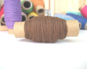 Brown Twine - Solid Brown Bakers Twine - 10 yards on each spool - Brown
