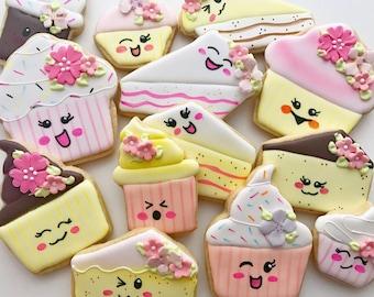 12  Kawaii Bakery Cookies