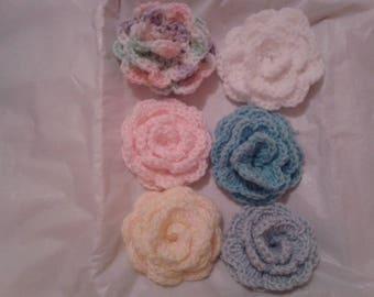Hair clips for girls, Handmade flower accessories for girls, Gift for girls, Handmade gifts girls, Flower hair accessory. Flower pins