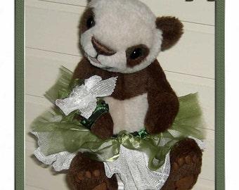 Pattern for Panda Bear Li-Myan 34cm PDF
